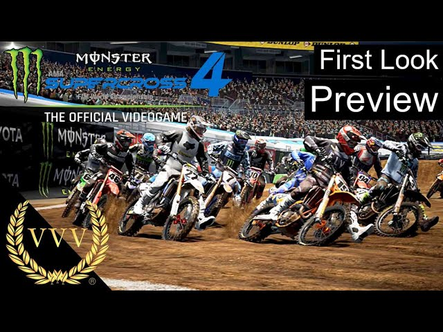 Monster Energy Supercross 4 - First Look Gameplay