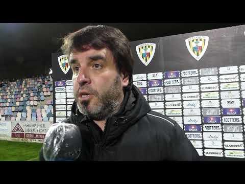 Jornada 16. Aitor Zulaika, tras el encuentro Barakaldo CF-Real Unión Club