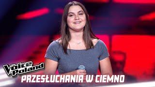 """Klaudia Kowalik - """"For You"""" - Przesłuchania w ciemno - The Voice of Poland 10"""