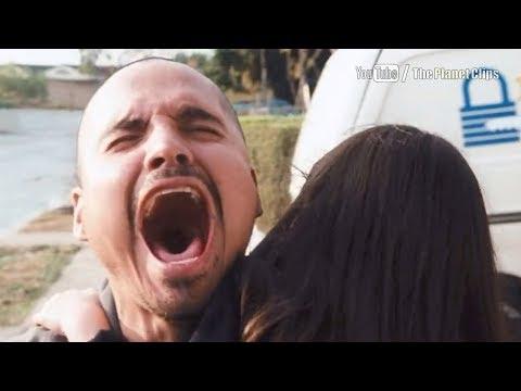 Farhad Shaun Toub shoots Baby Lara Ashlyn Sanchez  Crash 2004 film