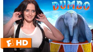 Eva Green Describes Her Circus Training For 'Dumbo' | 'Dumbo' Interview | Fandango All Access