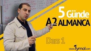 5 Günde A2 Almanca Öğreniyorum Ders 1 -online Almanca Kursu