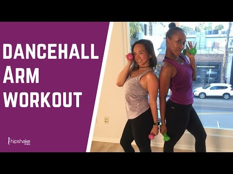 30 Minute Arm Toning and Cardio Workout | Dancehall Jam Live