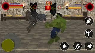 Marcus vs Hulk #35 SuperHeroes Street Fighter | Modern Fighting Games
