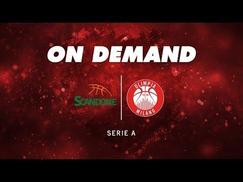 Scandone Avellino - Olimpia Milano On Demand