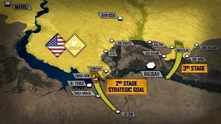 США и курды окружают сирийскую столицу ИГИЛ - город Ракка. Русский перевод.(Авторский перевод видео проекта SouthFront. Поддерживаемые американцами Сирийские демократические силы, состо..., 2017-02-11T14:52:53.000Z)