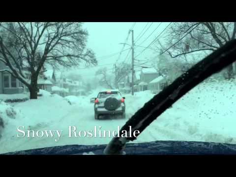 A tour of Roslindale #SnowyRoslindale #Boston