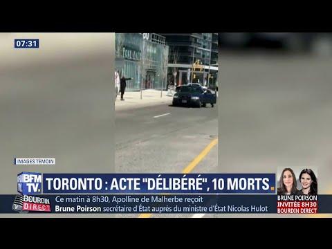 """""""Allonge-toi !"""" À Toronto, le sang-froid du policier qui a neutralisé le chauffeur de la camionnette"""