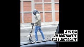 Rouler en trottinette électrique à 85km/h c'est possible...mais interdit