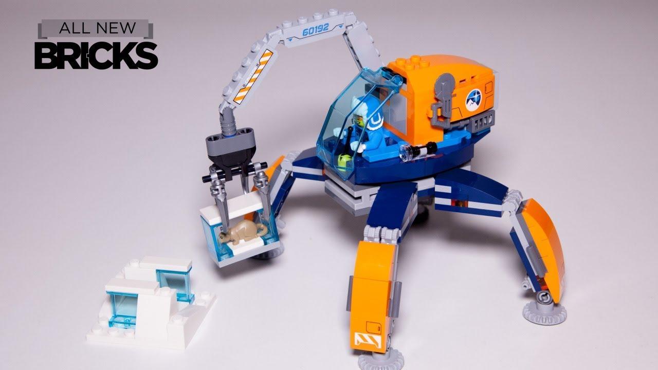 Lego City 60192 Arctic Ice Crawler Speed Build