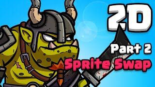 Thumbnail for 'Unity Sprite Swap! The perfect 2D workflow'