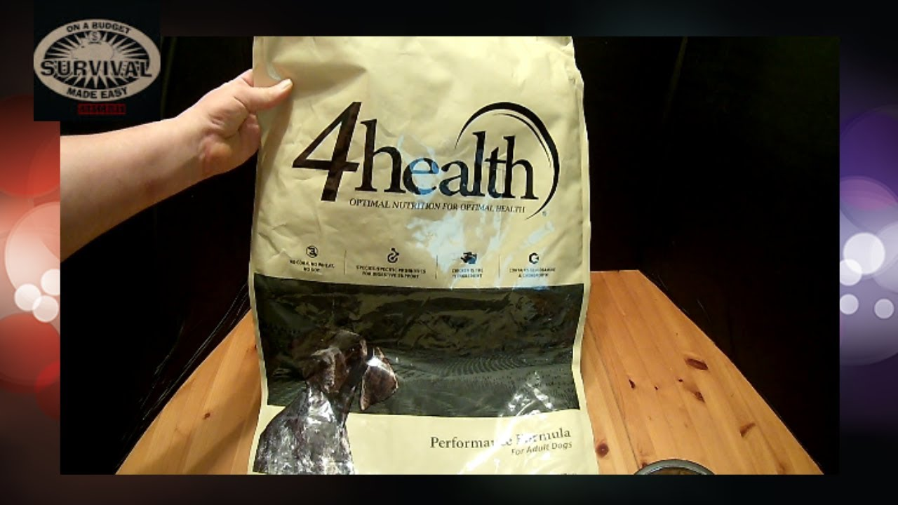 4health Puppy Food >> 4health Performance Dog Food Product Reviews