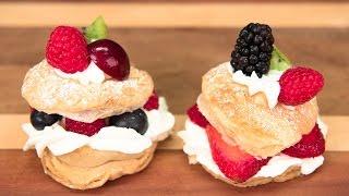 Lemon Cream Puff Recipe from Cookies Cupcakes and Cardio