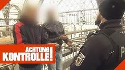 Dresden Hauptbahnhof: Männer ohne Ausweis & Ticket erwischt! | Achtung Kontrolle | Kabel Eins