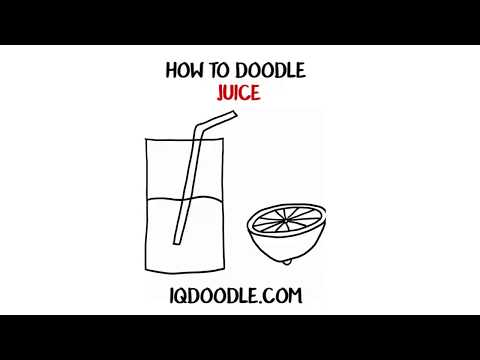 How to Draw Juice (drawing tips)