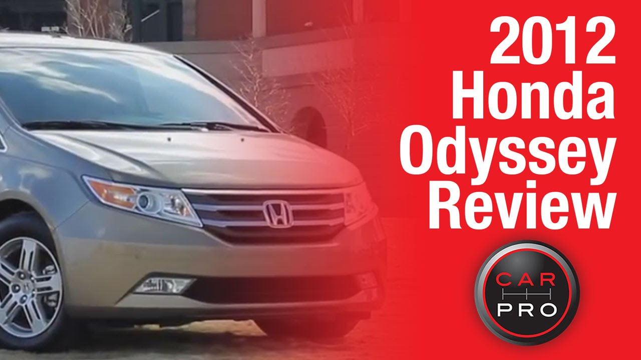 High Quality TEST DRIVE: 2012 Honda Odyssey Review