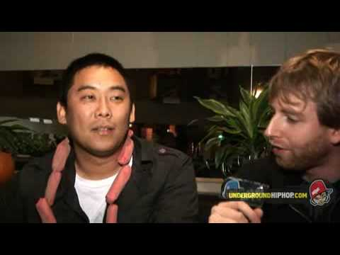 David Choe - Interview Pt. 2 (Live At The Good Life - Boston, MA - 11/27/07)