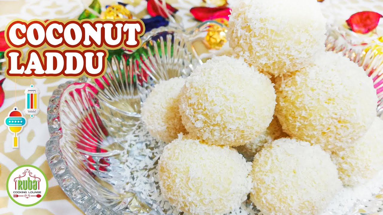 Coconut Laddu | Quick Nariyal Ladoo Recipe | Eid Special