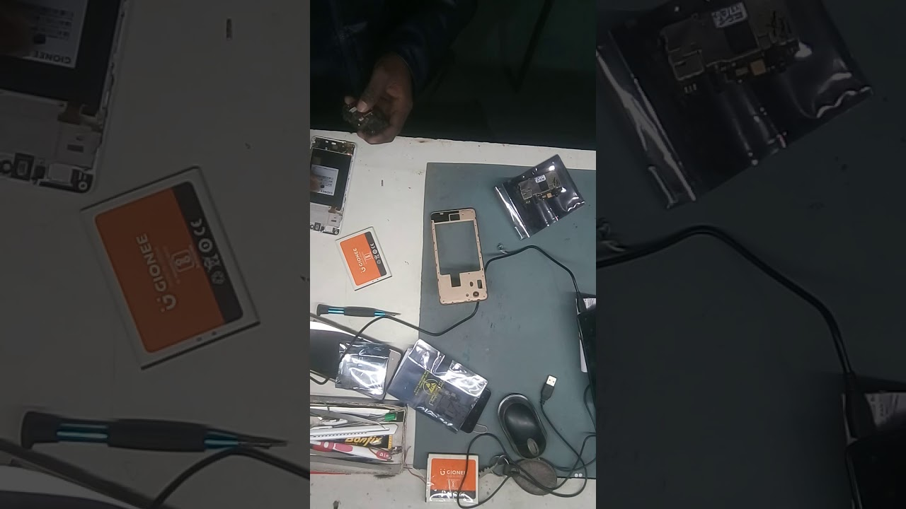 gionee f103 motherboard replace