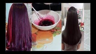 Lấy củ dền nhuộm theo cách này có ngay mái tóc tím đỏ như đi salon chỉ với 5 nhìn