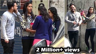 Gulabi bhains jaisi lagti ho| Insulting Girls In Public | Awesome Reactions | Pranks in India 2017