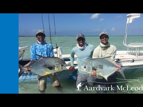 Permit Fishing On The Flats Of Crooked & Acklins Islands, Bahamas