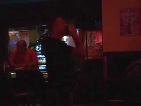 Steven Taylor Karaoke singing Mountain Music