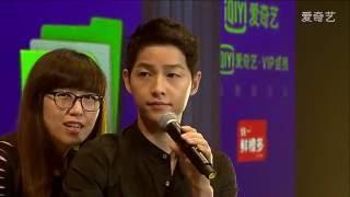 160528 송중기 심천팬미팅 Song Joong Ki Shenzhen Fan Meeting full iQiyi version 宋仲基深圳粉丝见面会