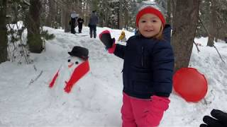Land Family Plays in Tahoe Snow - 29 & 31 Dec 2019