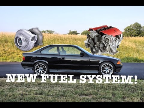 TURBO LS FUEL SYSTEM- E36 LS TURBO SWAP PART 6