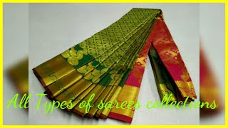 All Types Of Sarees Collections