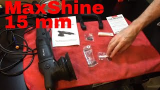 A DETAILED Look At The MaxShine The Master 15 mm orbital polisher, 900w!!!