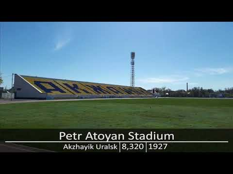 Kazakhstan Premier League Stadiums 2017