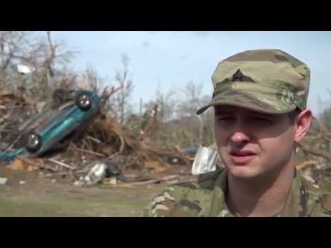 Mississippi National Guard Soldiers assist disaster relief efforts