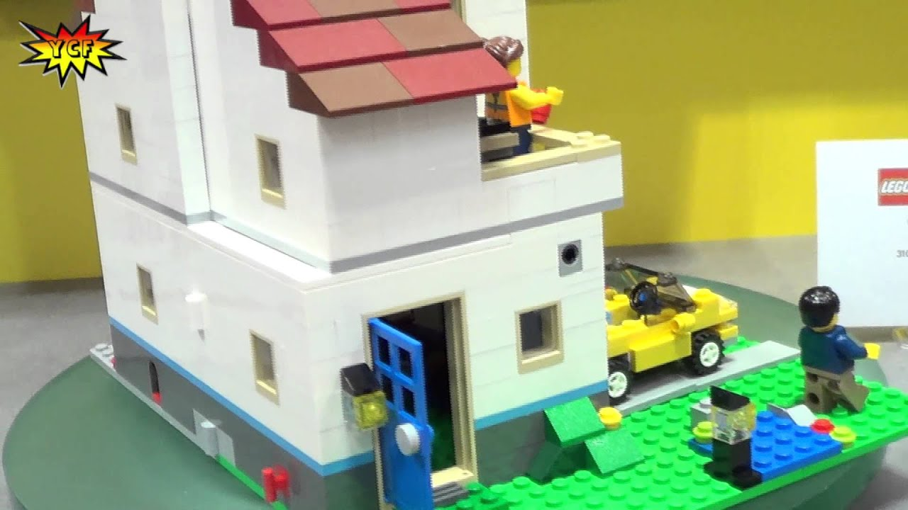 Lego Creator Family House 31012 2013 Summer Set Preview Ny