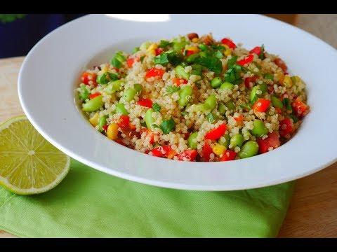 Edamame Corn and Quinoa Salad | Salad Month | Episode 34
