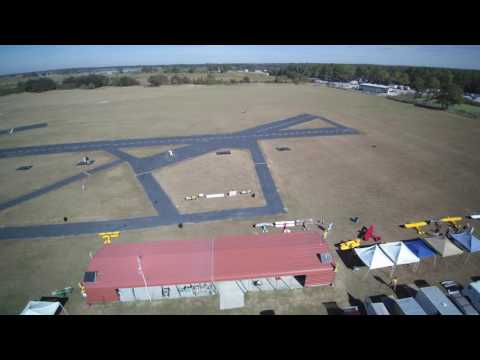 Imperial RC Club's Golden Age of Flight 2016 Aerial view.