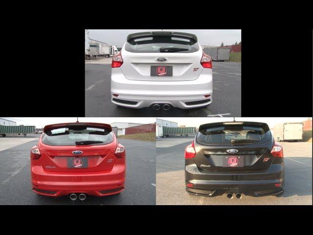 focus st exhaust sound clips 2013 2018