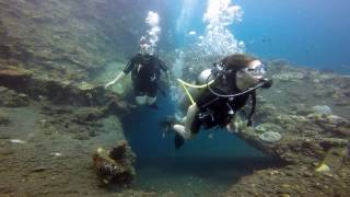 Pauline Mat Fiona Pauline abyss dive center Amed Bali