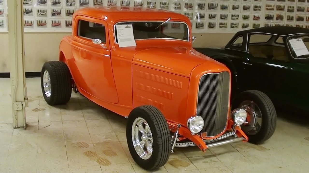 1932 Ford Coupe Street Rod - YouTube