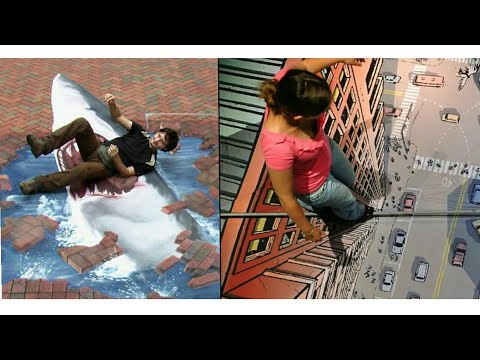 THE WORLD'S MOST AMAZING 3D STREET ART | TOP 3D ROAD ART IN THE WORLD