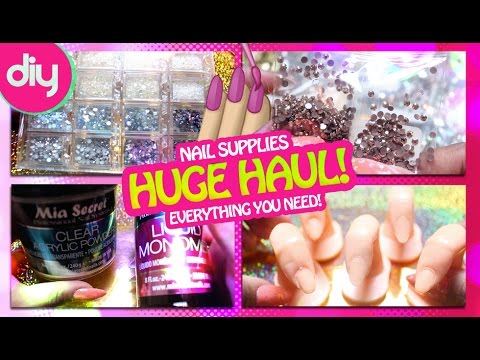 DIY: HUGE Haul! Affordable Nail Supplies