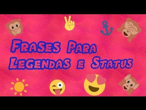 Frases Curtas Para Status Do Whatsapp Youtube