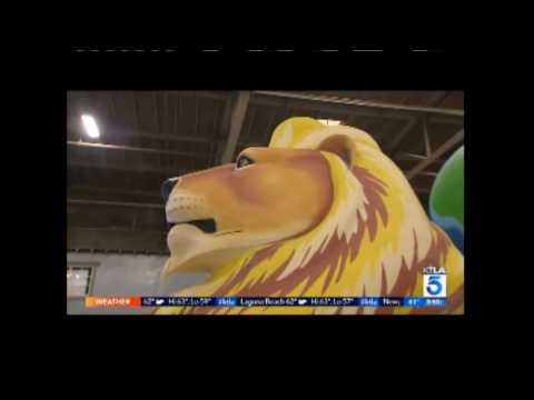 Story of the 2017 Lions Float for the Pasadena Tournament of Roses Parade