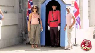 Funny British Underwear Guard Prank
