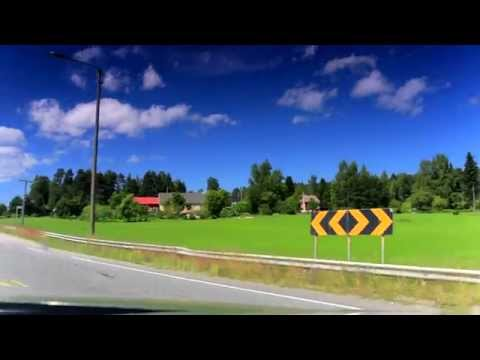 Road trip - Finland, Hämeenlinna - Pälkäne - Kangasala