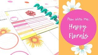 Plan With Me | Warm Floral