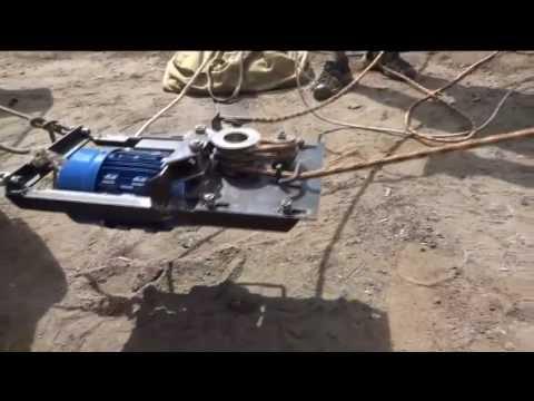 Лебедка ручная с блоком 1500кг SHTOK - YouTube