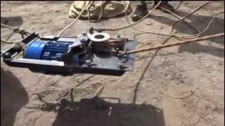 Лебедка для подъема грузов на любую высоту по синтетическому тросу