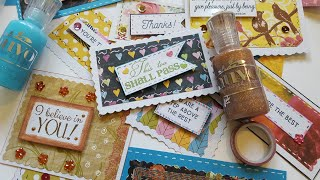 USING SCRAPS TO MAKE CARD EMBELLISHMENTS | PAPER CRAFTS